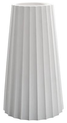 Pot de fleurs Eufronio - Serralunga blanc en matière plastique