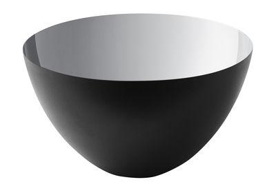 Saladier Krenit / Ø 25 x H 14 cm - Acier - Normann Copenhagen noir/argent/métal en métal