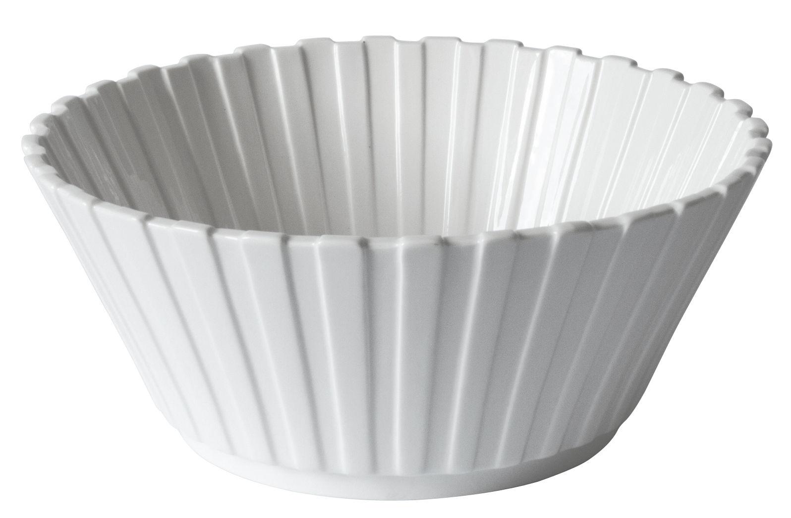 Arts de la table - Saladiers, coupes et bols - Saladier Machine Collection / Ø 28 cm - Diesel living with Seletti - Blanc - Porcelaine