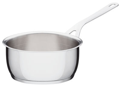 Kitchenware - Pots & Pans - Pots and Pans Saucepan by A di Alessi - Ø 18 cm - Stainless steel