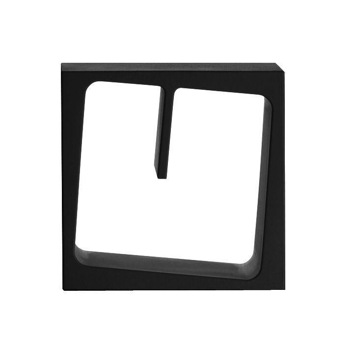 Arredamento - Scaffali e librerie - Scaffale Quby - Modulabile di B-LINE - Nero - Polietilene