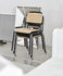 Halftime Stacking chair - / Wood & metal by Hay