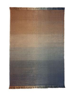Interni - Tappeti - Tappeto per esterno Shade palette 2 - / 170 x 240 cm di Nanimarquina - Blu & Arancione - Polietilene