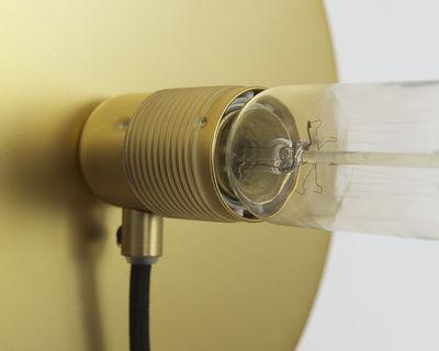 frama kit wandleuchte mit stromkabel klein 12 cm messing kabel schwarz by frama made. Black Bedroom Furniture Sets. Home Design Ideas