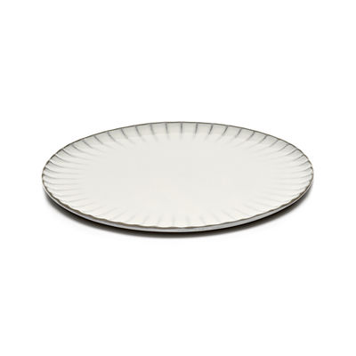 Assiette Inku / Ø 27 cm - Grès - Serax blanc en céramique