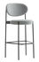 Series 430 Bar stool - / Rembourré - Tissu - H 75 cm by Verpan