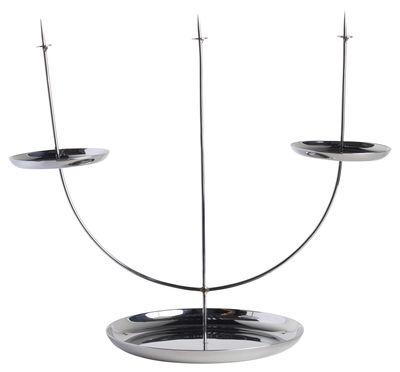 Interni - Candele, Portacandele, Lampade - Candeliere Candelabra pin di ENOstudio - Inox - Acciaio inossidabile