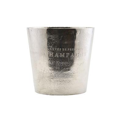 Tableware - Wine Accessories - Cuvee Champagne bucket - / Aluminium - Ø 23 x H 22 cm by House Doctor - Metal - Aluminium