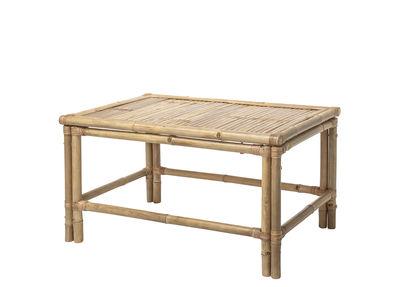 Möbel - Couchtische - Sole Couchtisch / Bambus - 70 x 70 cm - Bloomingville - Bambus - Bambus
