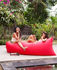 Lamzac 3.0 Inflatable pouf - / L 200 cm - Polyester by Fatboy