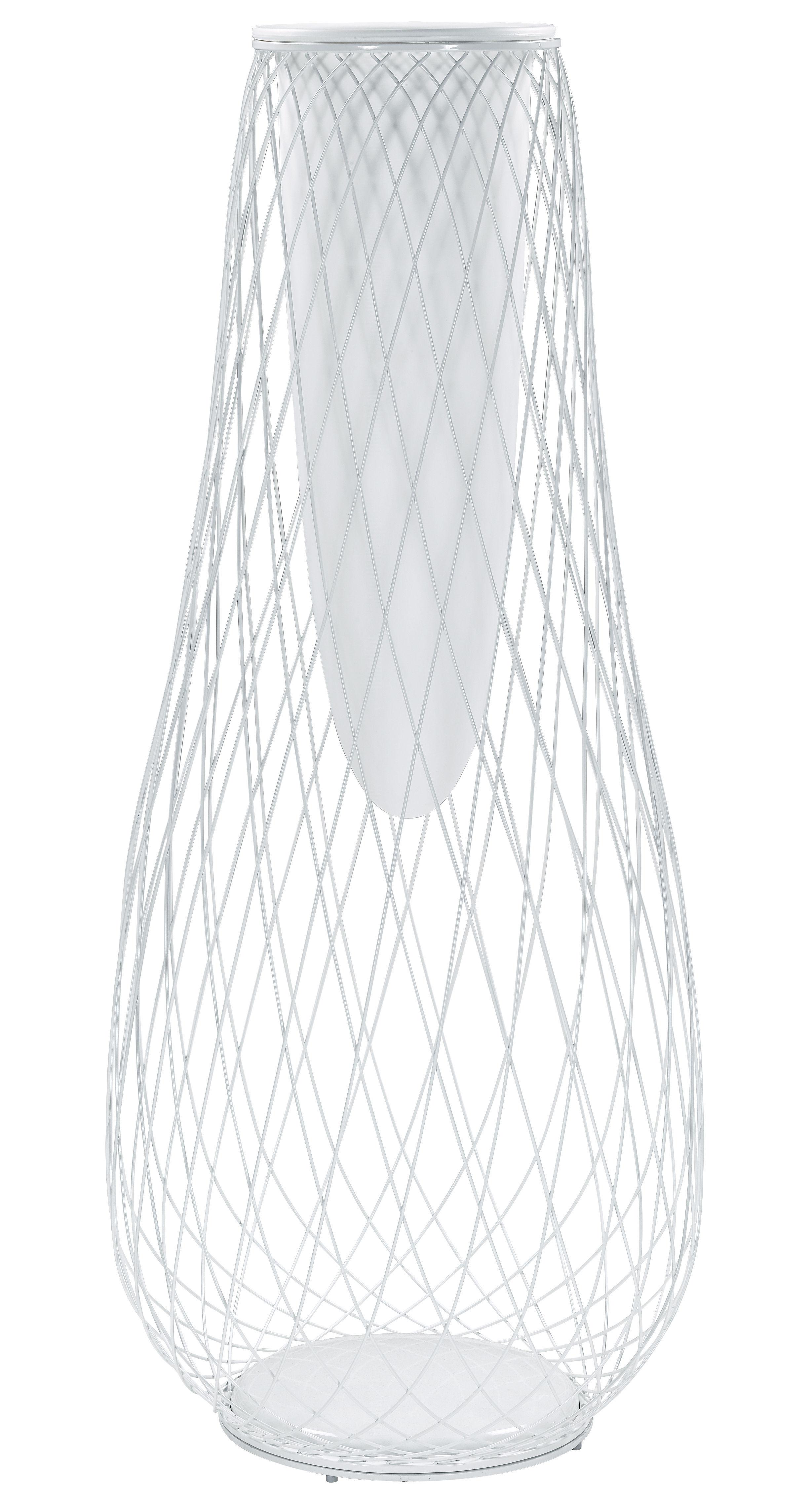 Jardin - Pots et plantes - Jardinière Heaven - Emu - H 163 cm / Blanc mat - Acier, Plastique