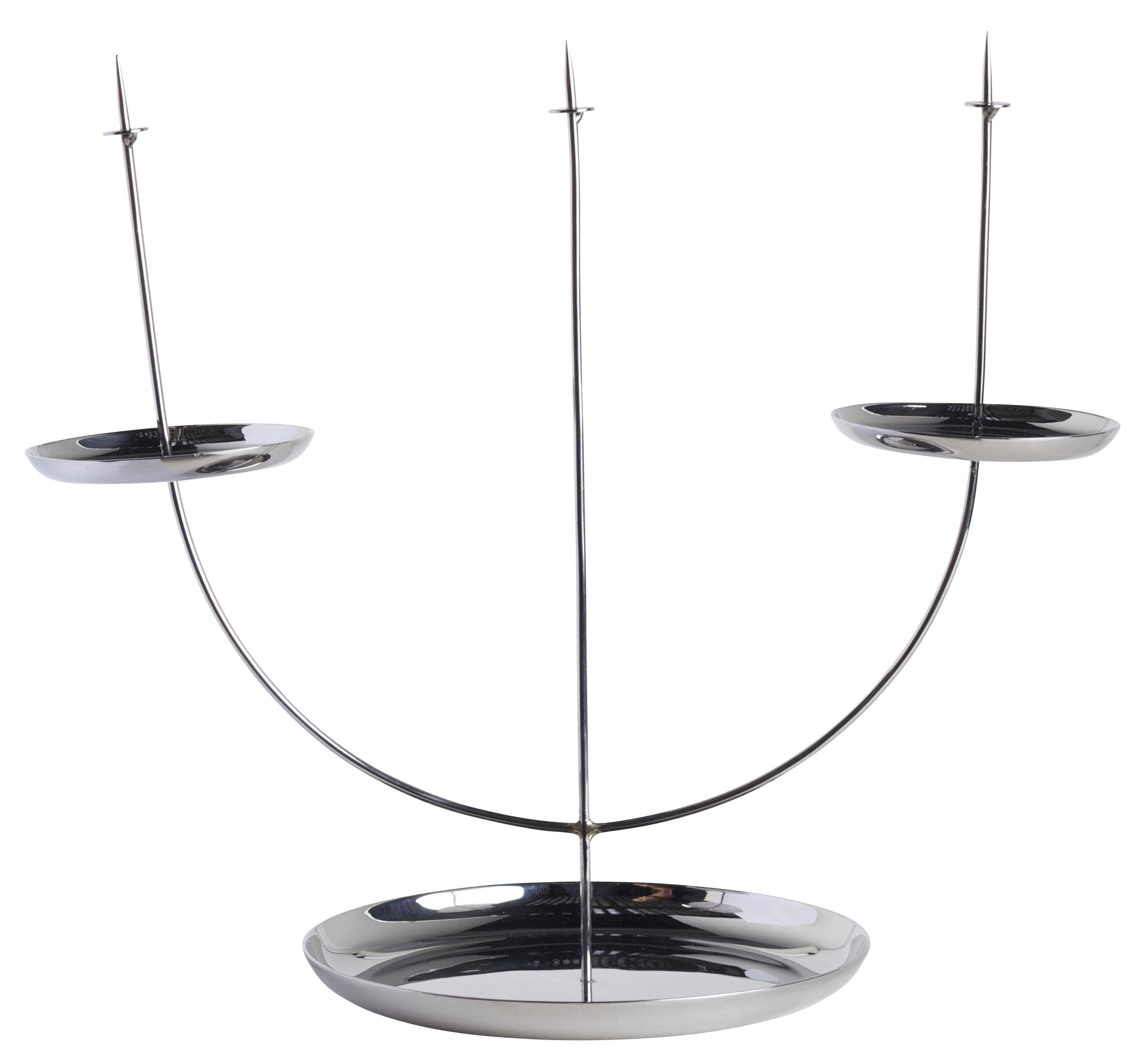 Dekoration - Kerzen, Kerzenleuchter und Windlichter - Candelabra pin Kerzenleuchter - ENOstudio - Edelstahl - rostfreier Stahl