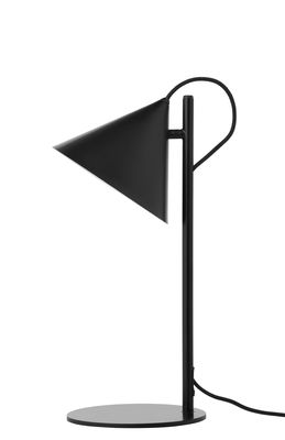 Lampe de table Benjamin - Frandsen noir mat en métal