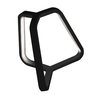Luminaire - Lampe de table Toy H 20 cm - Martinelli Luce - Noir - Aluminium, Méthacrylate, Polycarbonate