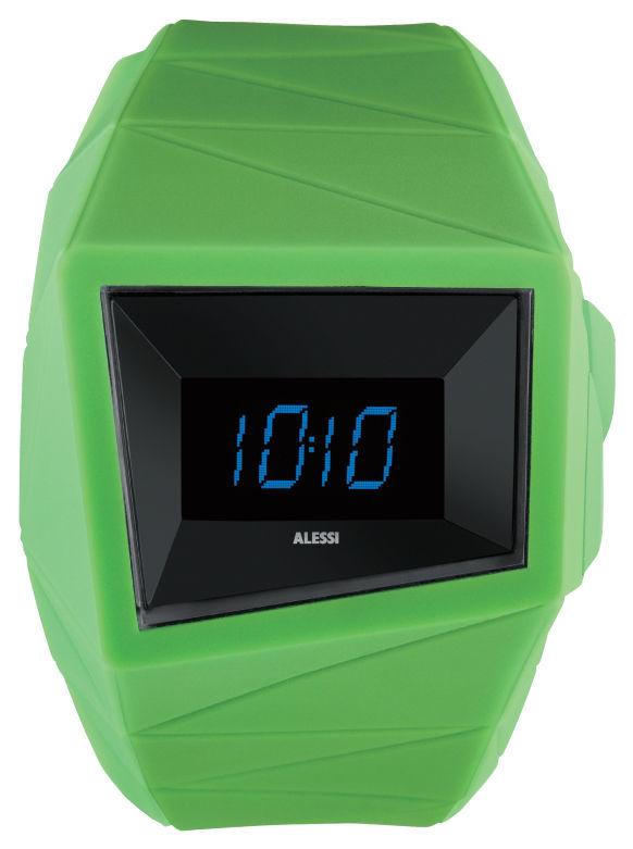Accessoires - Montres - Montre Daytimer - Alessi Watches - Vert - Polyuréthane