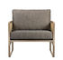 Cannage Padded armchair - / Fabric by RED Edition