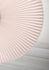 Carmen Small Pendant - / LED - Ø 90 cm - Pleated fabric by Hartô