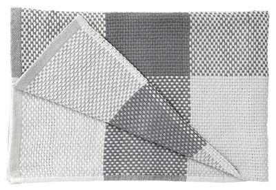 Interni - Tessili - Plaid Loom - /130 x 180 cm di Muuto - Grigio - Cotone