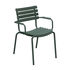 ReCLIPS Stackable armchair - / Metal armrests - Recycled plastic by Houe