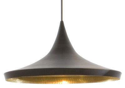 Suspension Beat Wide / Ø 36 cm x H 16 cm - Tom Dixon noir,or en métal