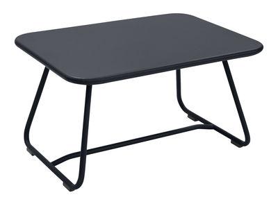 Table basse Sixties / Acier - 75 x 55 cm - Fermob carbone en métal