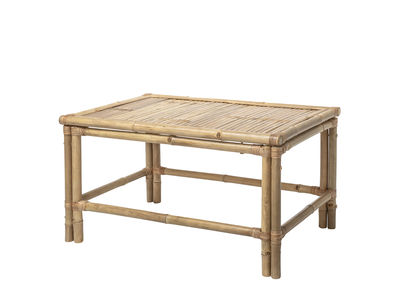 Mobilier - Tables basses - Table basse Sole / Bambou - 70 x 70 cm - Bloomingville - Bambou - Bambou