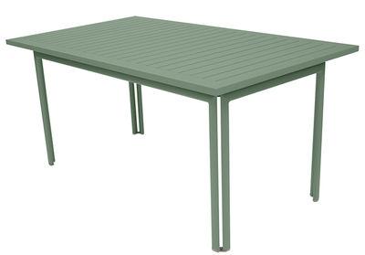 Table rectangulaire Costa 160 x 80 cm - Fermob cactus en métal