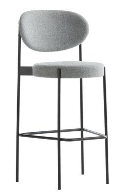 Tabouret de bar Series 430   Rembourré - Tissu - H 75 cm - Verpan noir 221057828ad0