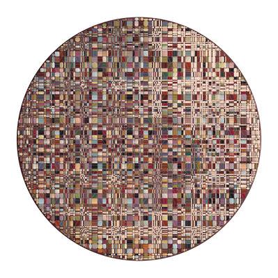 Déco - Tapis - Tapis Bead / Ø 250 cm - Moooi Carpets - Multicolore - Polyamide