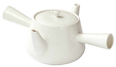 Tableware - Tea & Coffee Accessories - Tea For Two Teapot - 500 ml by droog - White - China