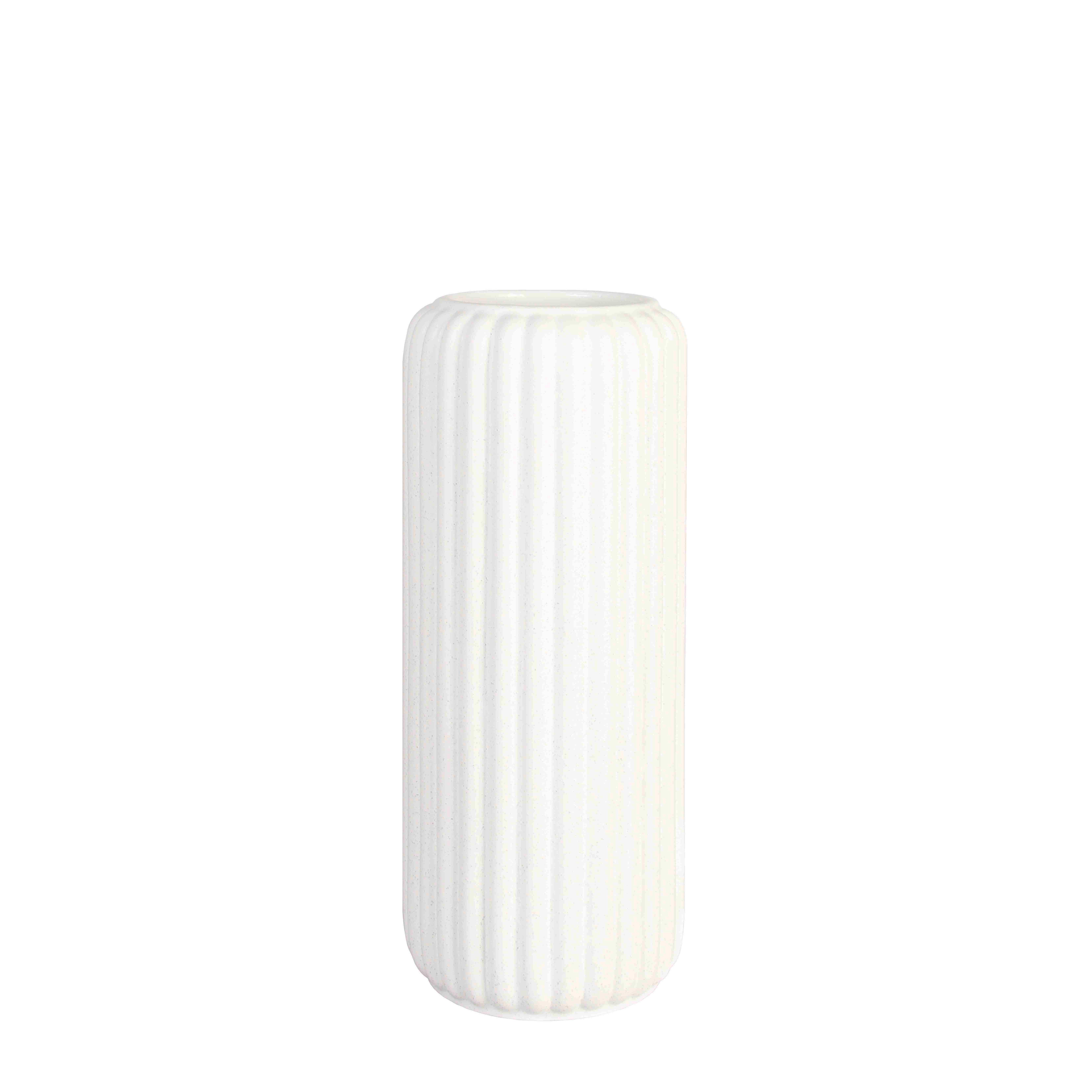 Déco - Vases - Vase Speckle - & klevering - Blanc - Céramique