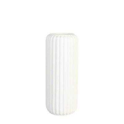 Interni - Vasi - Vaso Speckle di & klevering - Bianco - Ceramica
