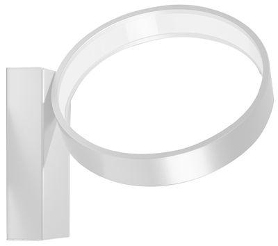 Luminaire - Appliques - Applique Eclittica LED / Ø 20 cm - Danese Light - Blanc - Aluminium peint, Méthacrylate