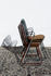 Paon Armchair - / Metal & bamboo by Houe