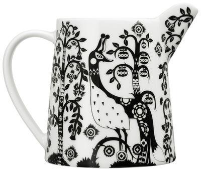 Arts de la table - Carafes et décanteurs - Carafe Taika / 0,5 L - Iittala - Noir - Porcelaine