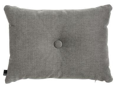 Interni - Cuscini  - Cuscino Dot Tint - / 60 x 45 cm di Hay - Grigio scuro - Cotone, Lino