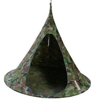 Jardin - Chaises longues et hamacs - Fauteuil suspendu / Tente - Ø 180 cm - 2 personnes - Cacoon - Camouflage - Toile