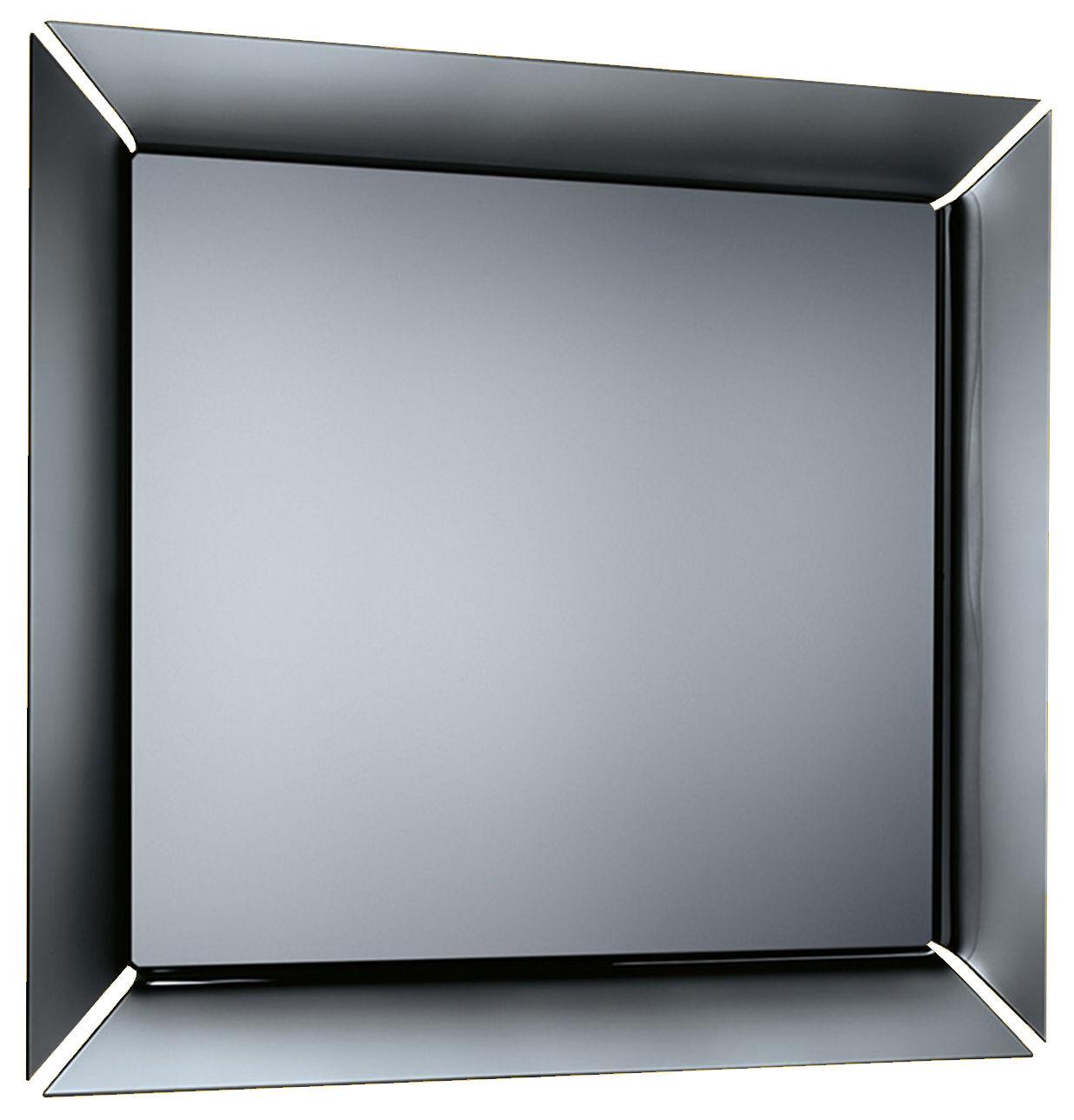 Accessoires - Objets connectés, accessoires high tech - Miroir mural Caadre TV / Téléviseur - Ecran LCD 42 pouces Sony intégré - 155 x 140 cm - FIAM - Cadre : Titane & noir - Verre