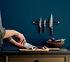 Nordic Kitchen Peeling knife - / Damascus steel & Pakka wood by Eva Solo