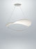Plena LED Pendelleuchte / Stoff - Ø 70 cm - Foscarini