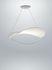 Sospensione Plena LED - / Tessuto - Ø 70 cm di Foscarini