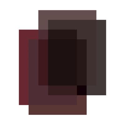 Tapis Blended / 4 couleurs - 250 x 300 cm - Moooi Carpets rouge marble en tissu