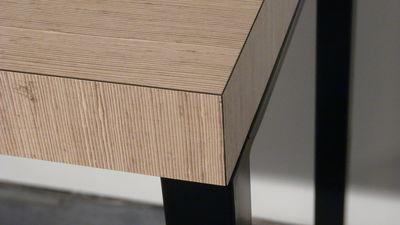 Tavoli Alti Legno : Scopri tavolo bar alto big brother legno chiaro e nero ramato di