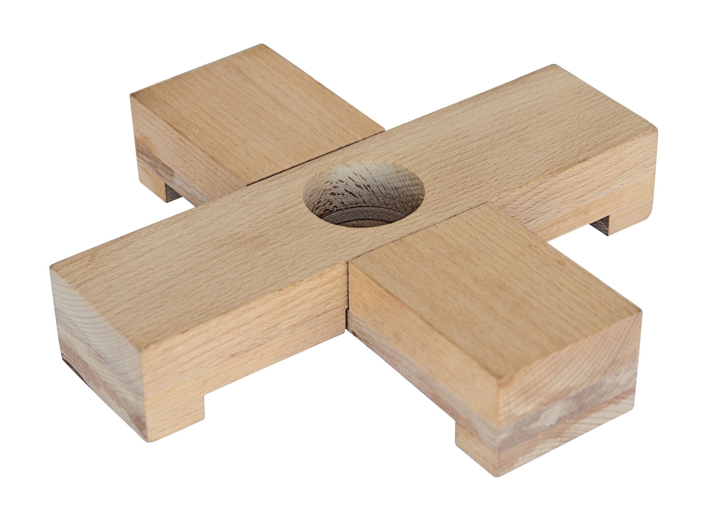 Base per applique linea legno legno naturale by seletti made