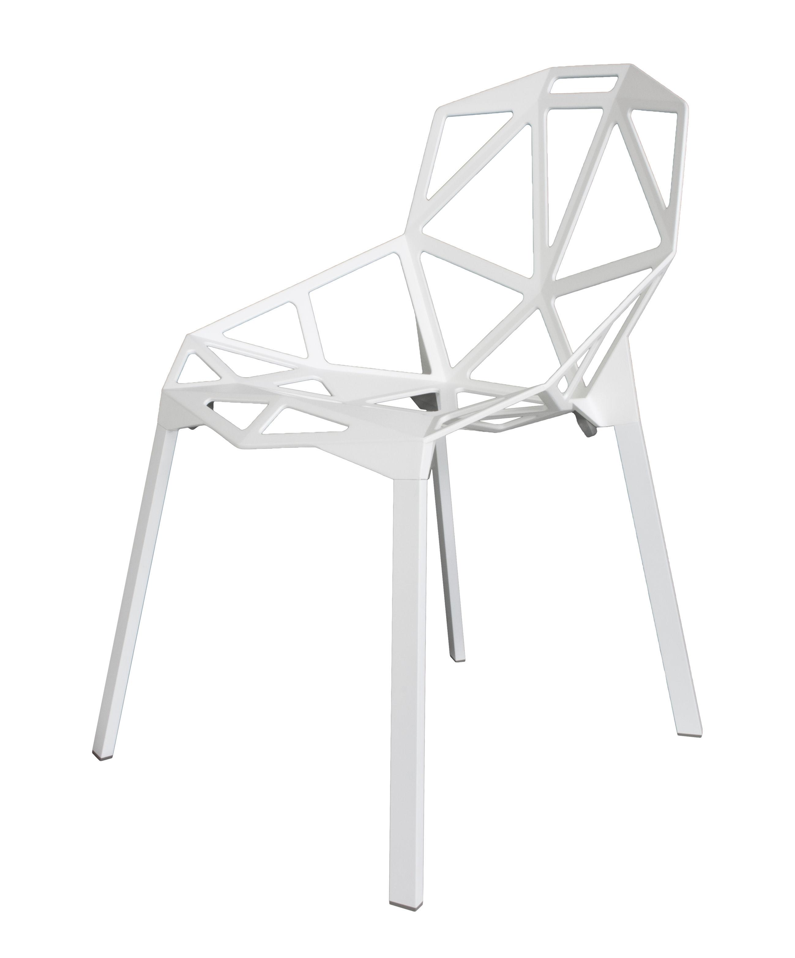 Chair Magis One Chaise Métal Empilable SUzMVp