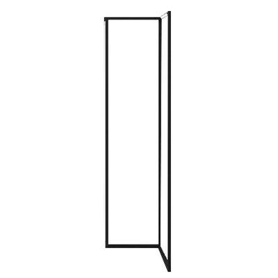 Illuminazione - Lampade da terra - Lampada a stelo Spigolo LED - / 44 x 64 x H 178 cm di Nemo - Nero - alluminio estruso