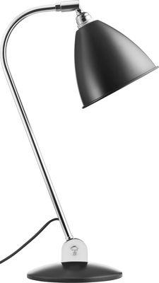 Lampe de table Bestlite BL2 / Réédition de 1930 - Abat-jour métal - Gubi noir en métal