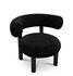 Fat Padded armchair - / Velvet by Tom Dixon