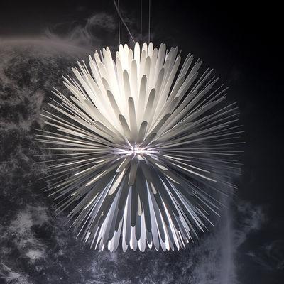 Illuminazione - Lampadari - Sospensione Sun-Light of Love - / LED - Metallo / Ø 65 cm di Foscarini - Blanc - Acciaio verniciato, alluminio verniciato
