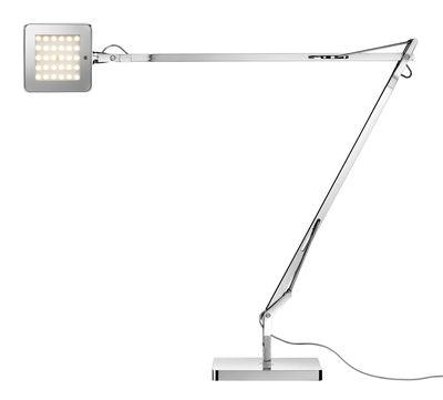 Lighting - Table Lamps - Kelvin LED Green Table lamp by Flos - Chromed - Aluminium, PMMA, Steel